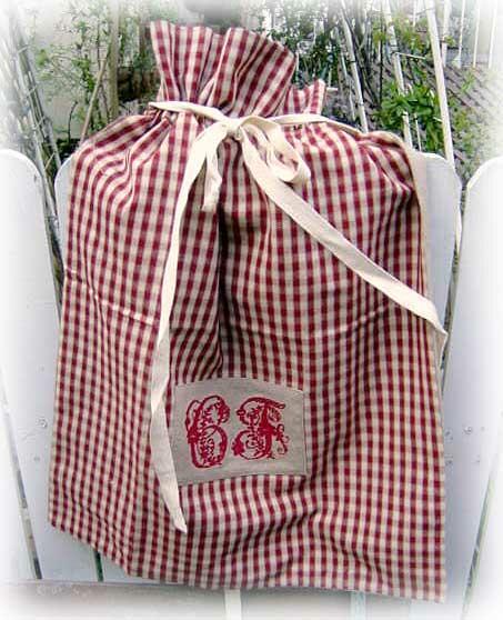 コントワールドゥファミーユのランドリーバッグ