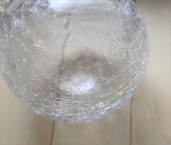 ガラスランプ