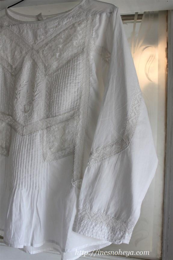 木綿のブラウス